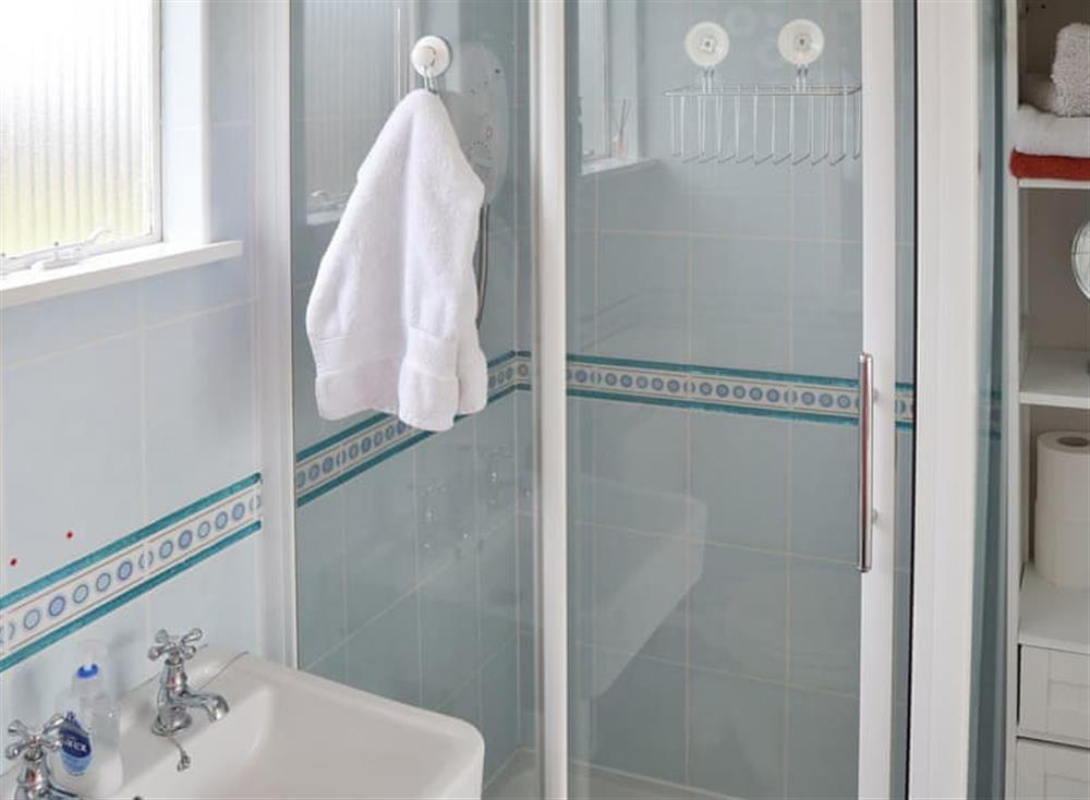 Shower room at Daphne in Stalham, Norfolk