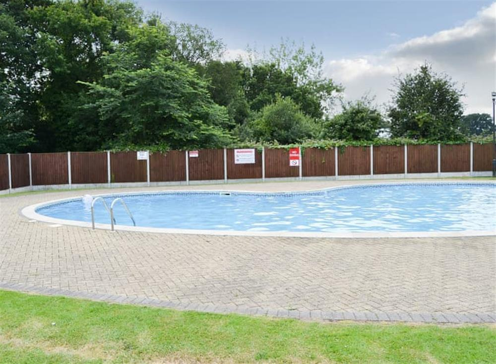Swimming pool at Daphne in Stalham, Norfolk