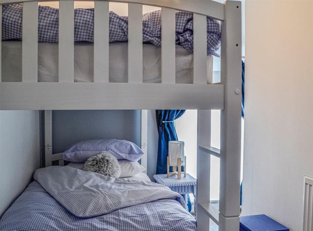 Bunk bedroom at Dare Valley Cottage in Aberdare, Glamorgan, Mid Glamorgan