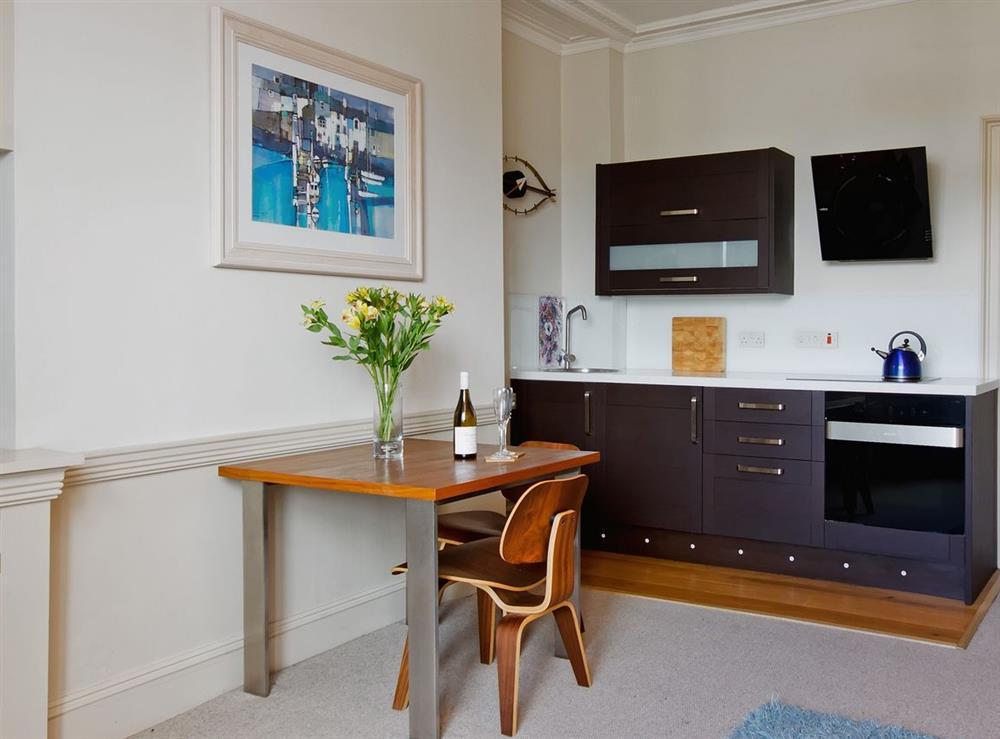 Kitchen area at Dart View, Apartment 1 in Dartmouth, Devon