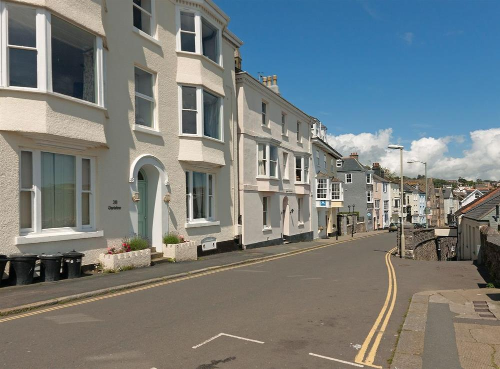 Outside view at Dart View, Apartment 1 in Dartmouth, Devon