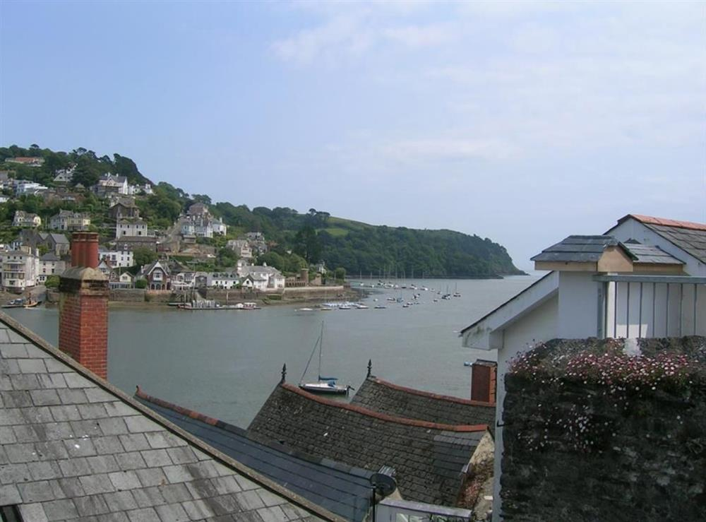 view from outside property at Dart View, Apartment 1 in Dartmouth, Devon