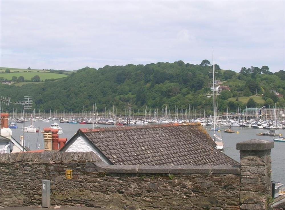 view from sitting room at Dart View, Apartment 1 in Dartmouth, Devon
