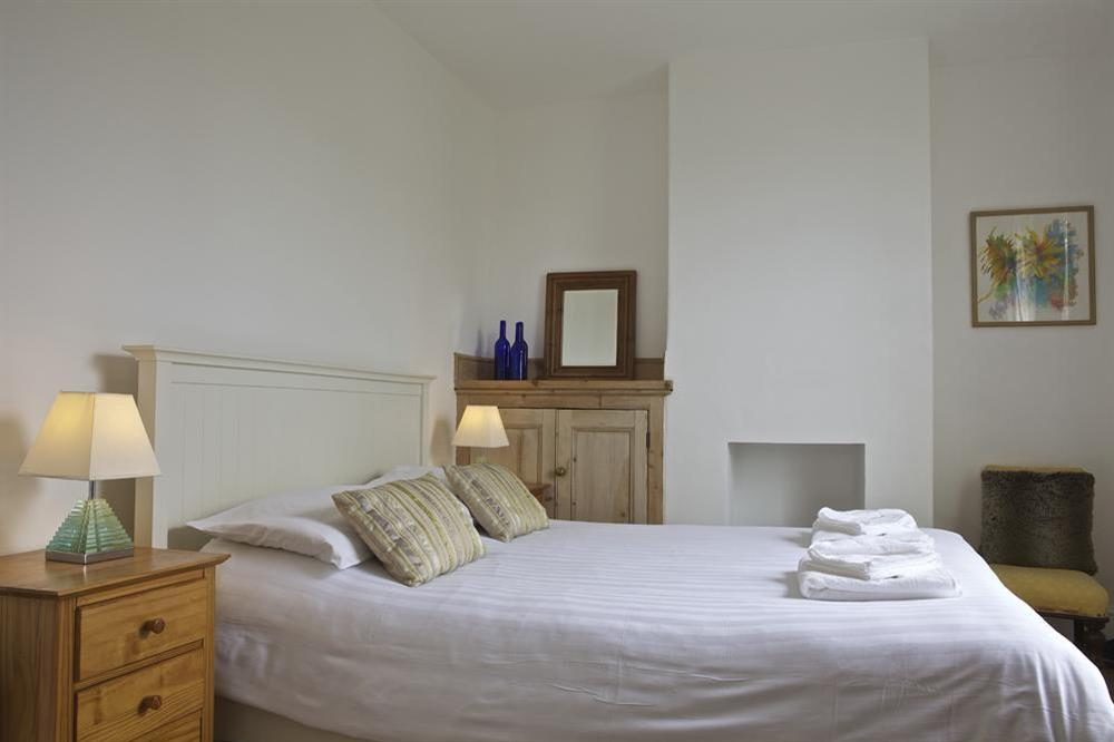 Double bedroom at Dart Views in 98 Above Town, Dartmouth