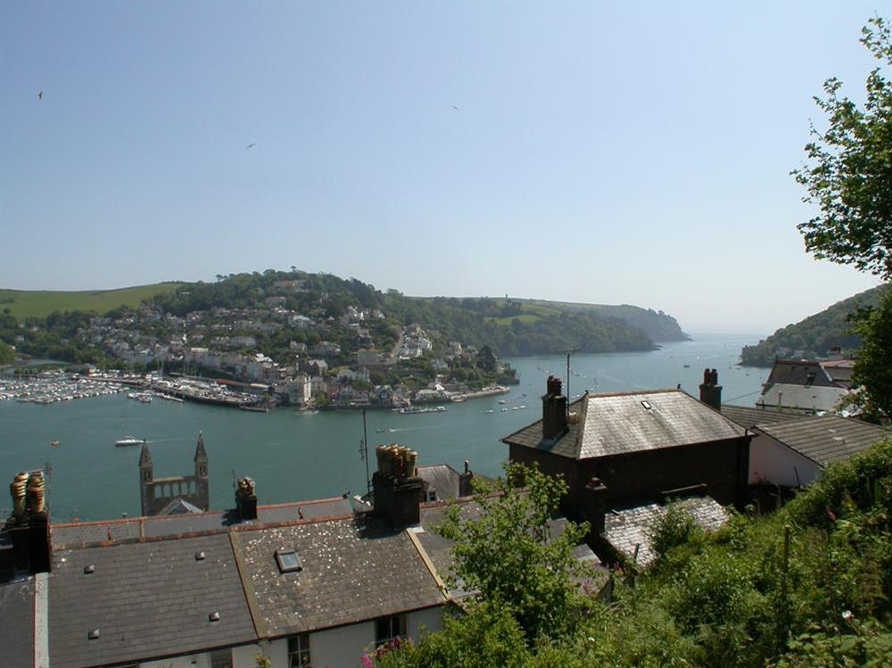 Views of the River Dart and Kingswear from the lounge at Dart Views in 98 Above Town, Dartmouth