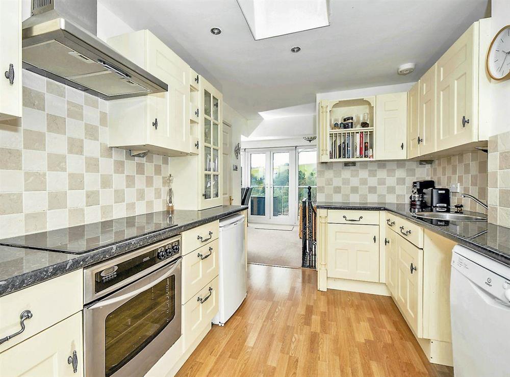 Kitchen at Dartview in Dartmouth, Devon