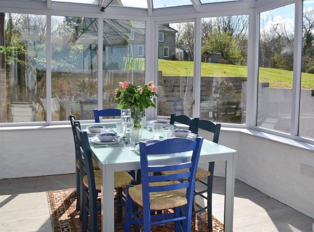 Conservatory at Deri in Llangoedmor, Nr Cardigan, Dyfed., Great Britain