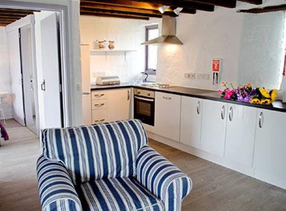 Kitchen at Deri in Llangoedmor, Nr Cardigan, Dyfed., Great Britain