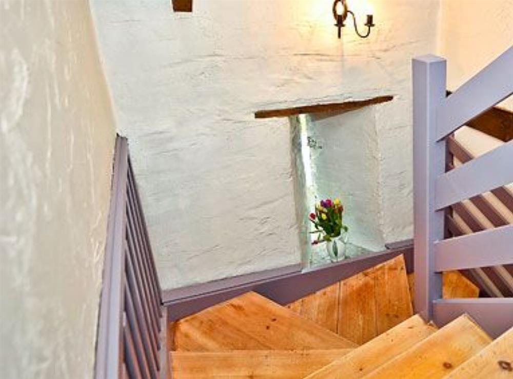Stairs at Deri in Llangoedmor, Nr Cardigan, Dyfed., Great Britain