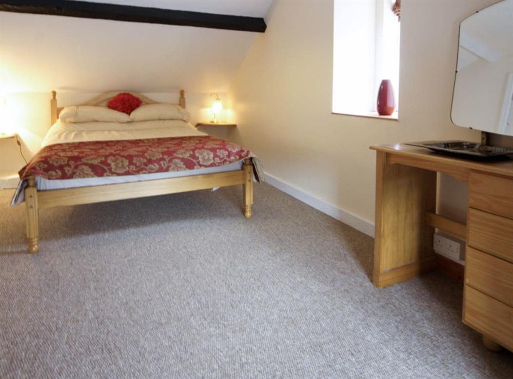 Double bedroom at Deuglawdd Cottage in Aberdaron, near Pwllheli, Gwynedd