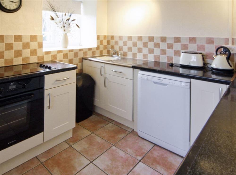 Kitchen at Deuglawdd Cottage in Aberdaron, near Pwllheli, Gwynedd