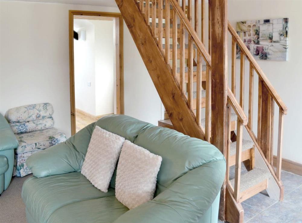 Living room at Deuglawdd Cottage in Aberdaron, near Pwllheli, Gwynedd