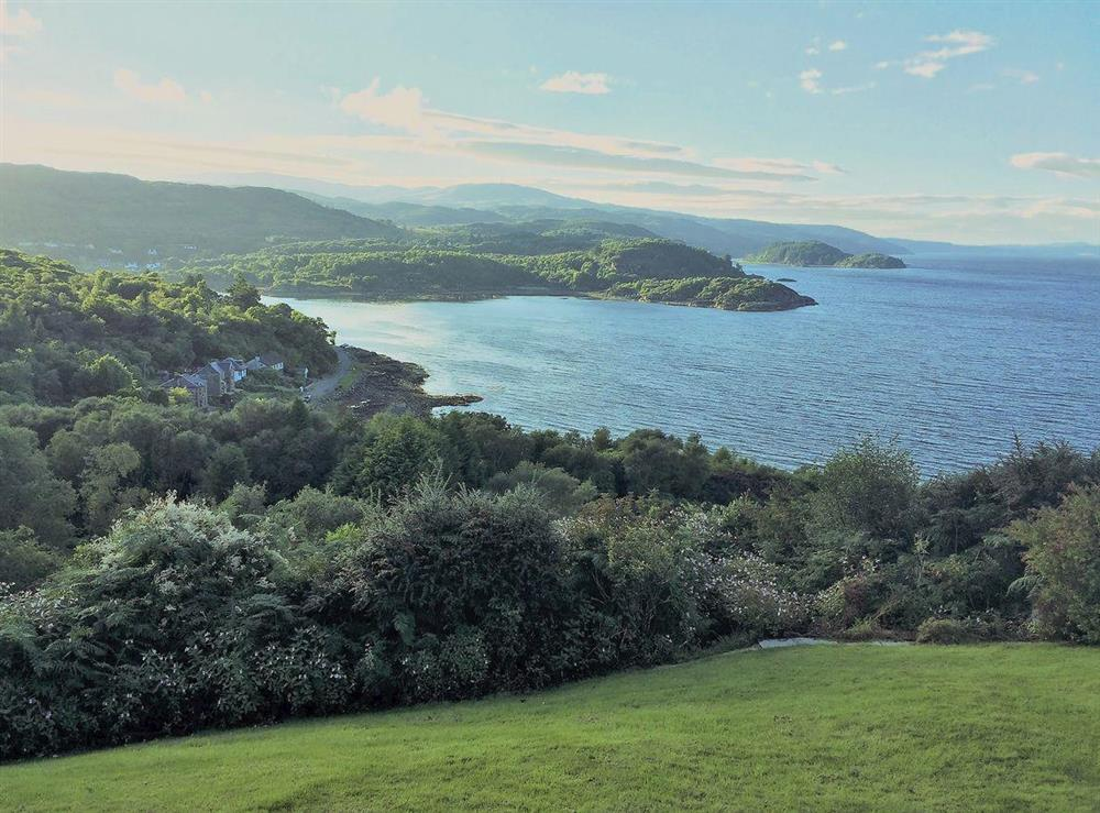 Set in an elevated position on the stunning Kintyre peninsula at Devana Croft in Tarbert, Agyll and Bute, Argyll