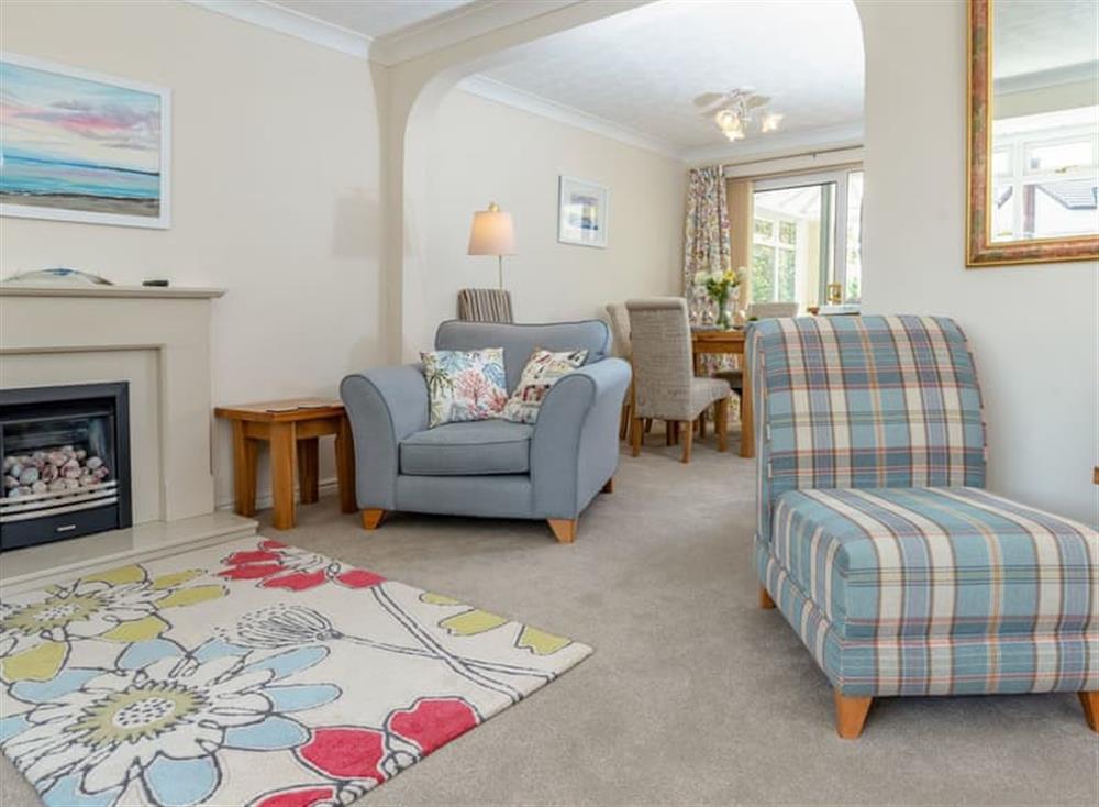 Attractive living room at Devon Retreat in Paignton, Devon