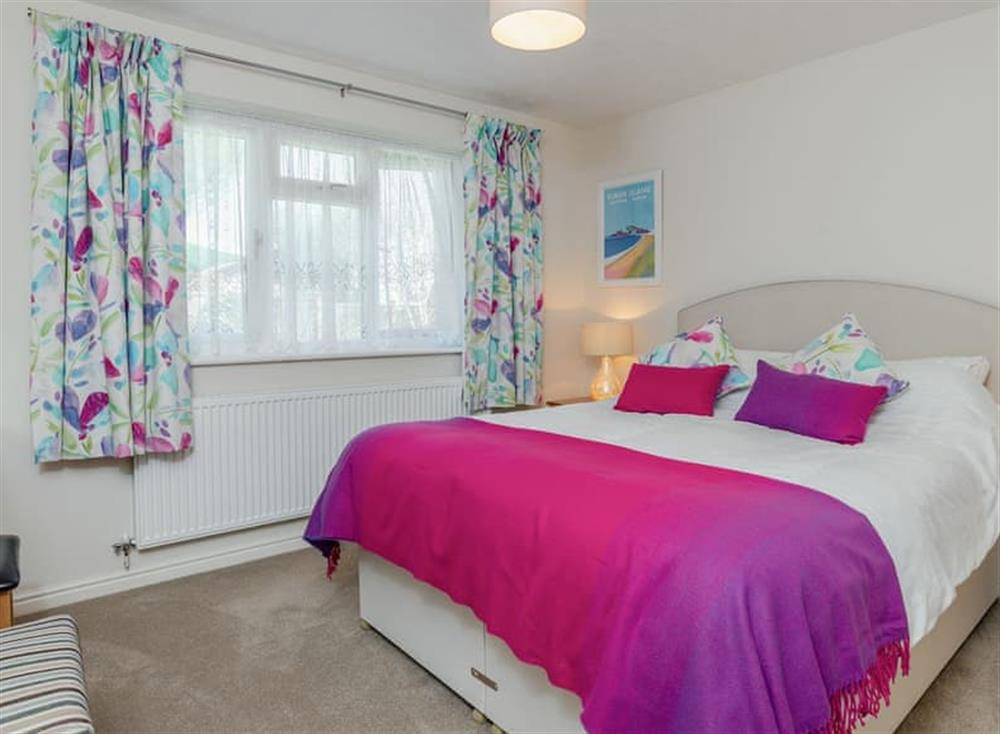 Comfortable double bedroom at Devon Retreat in Paignton, Devon