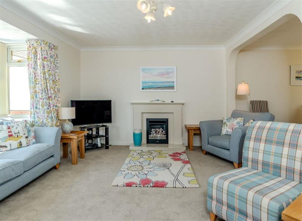 Comfortable living room at Devon Retreat in Paignton, Devon
