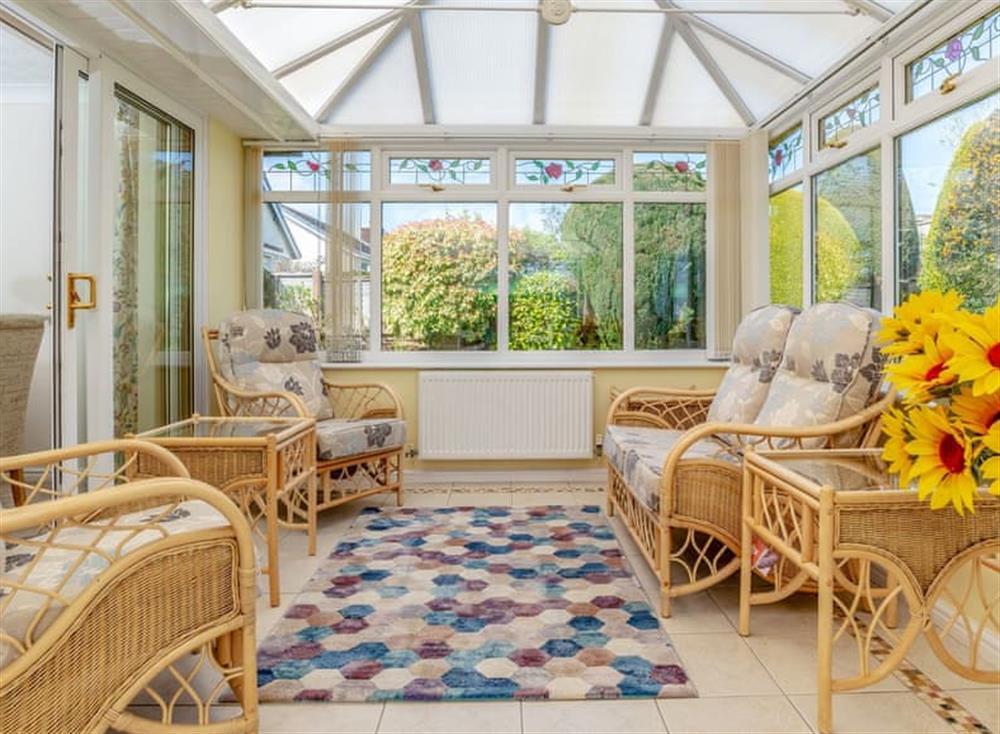 Delightful conservatory at Devon Retreat in Paignton, Devon