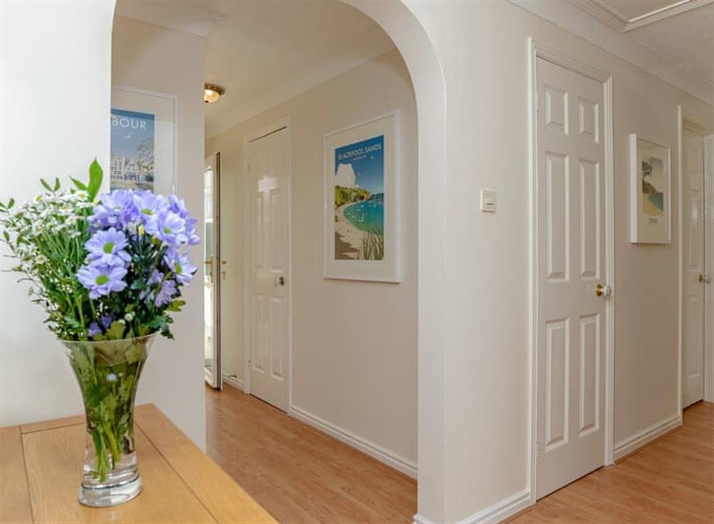 Hallway at Devon Retreat in Paignton, Devon