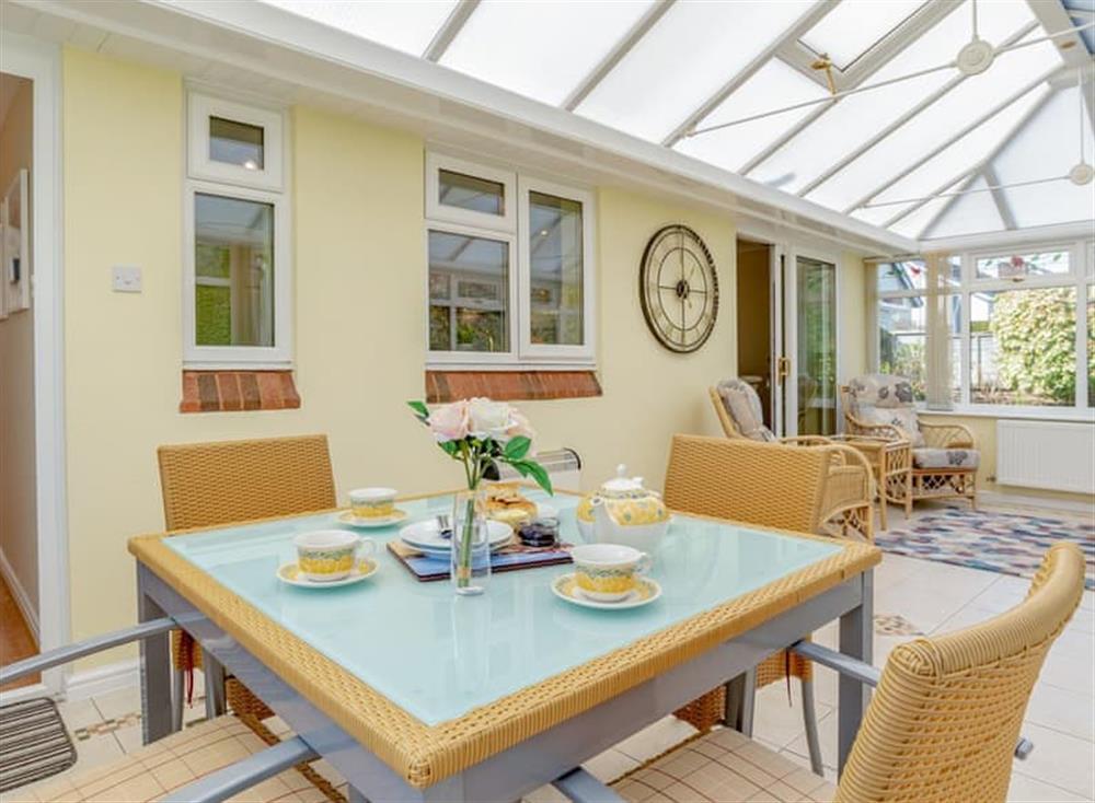 Light and airy conservatory at Devon Retreat in Paignton, Devon