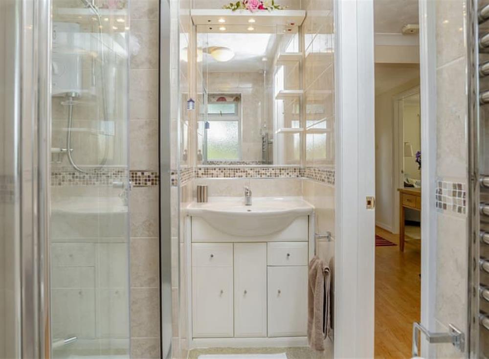 Shower room at Devon Retreat in Paignton, Devon