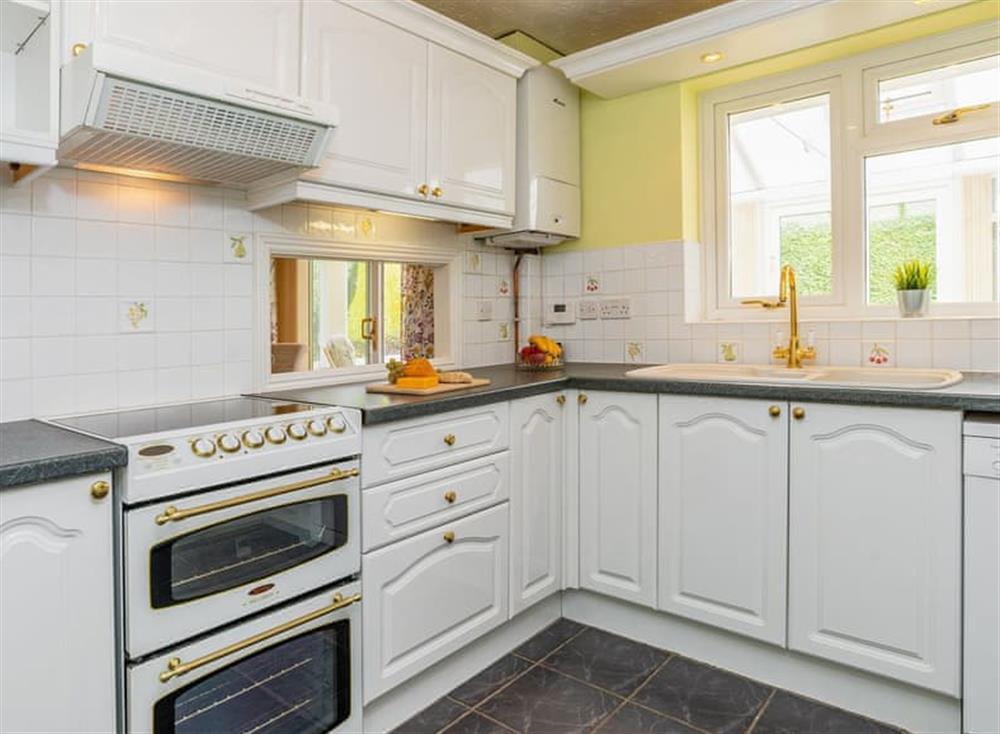 Well equipped kitchen at Devon Retreat in Paignton, Devon