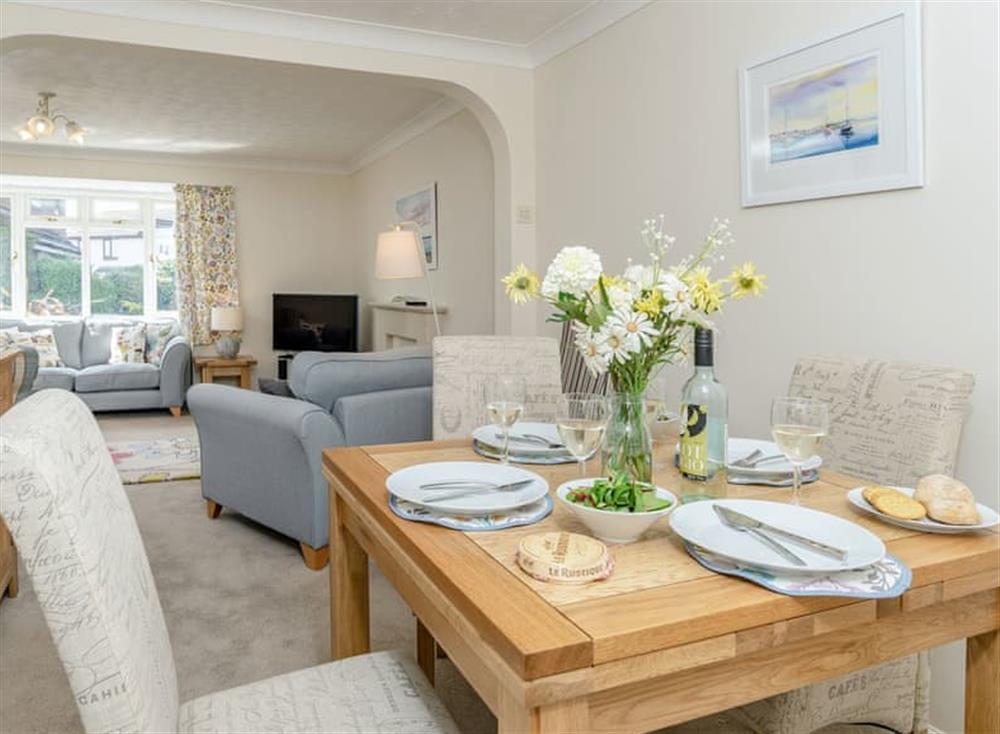 Well presented living/ dining room at Devon Retreat in Paignton, Devon