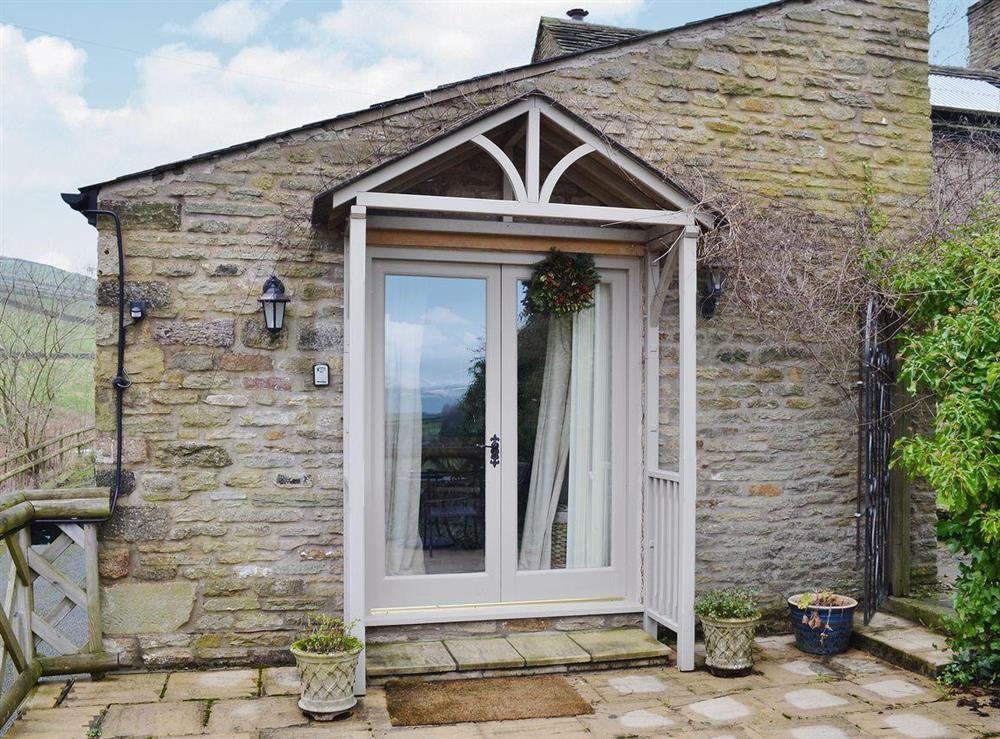 This beautiful barn conversion nestles within the Peak District within walking distance of Kinder Scout at Dewsnaps Spring in Chinley, High Peak, Derbyshire., Great Britain