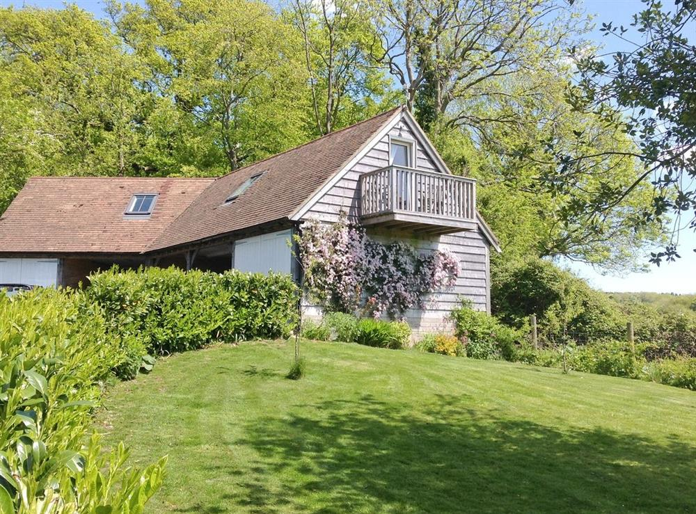 Exterior at Diddy Bones Barn in Forestside, near Chichester, Hampshire