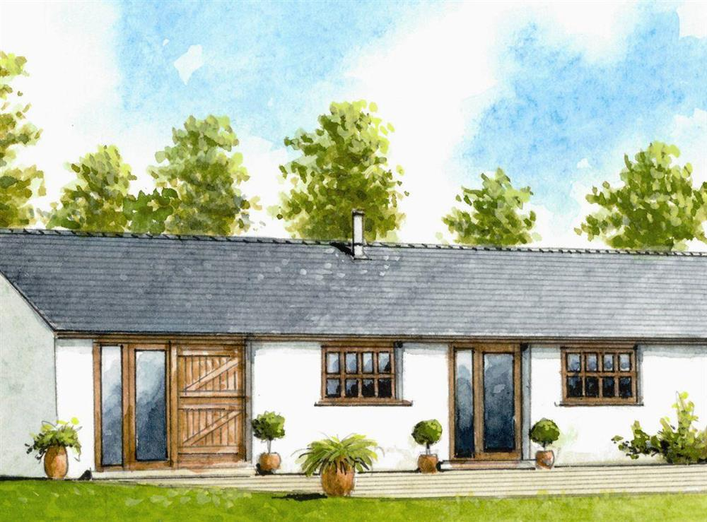Artist Impression at Divine Cottage in Goodrich, near Ross-on-Wye, Herefordshire