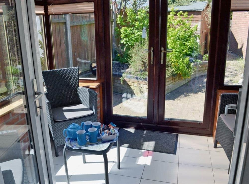 Conservatory at Dormouse Cottage in Sea Palling, Norfolk