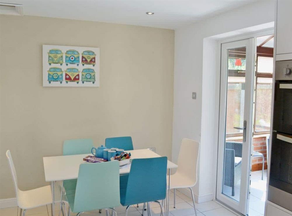 Dining Area at Dormouse Cottage in Sea Palling, Norfolk