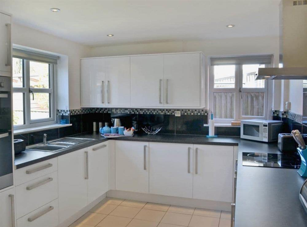Kitchen at Dormouse Cottage in Sea Palling, Norfolk