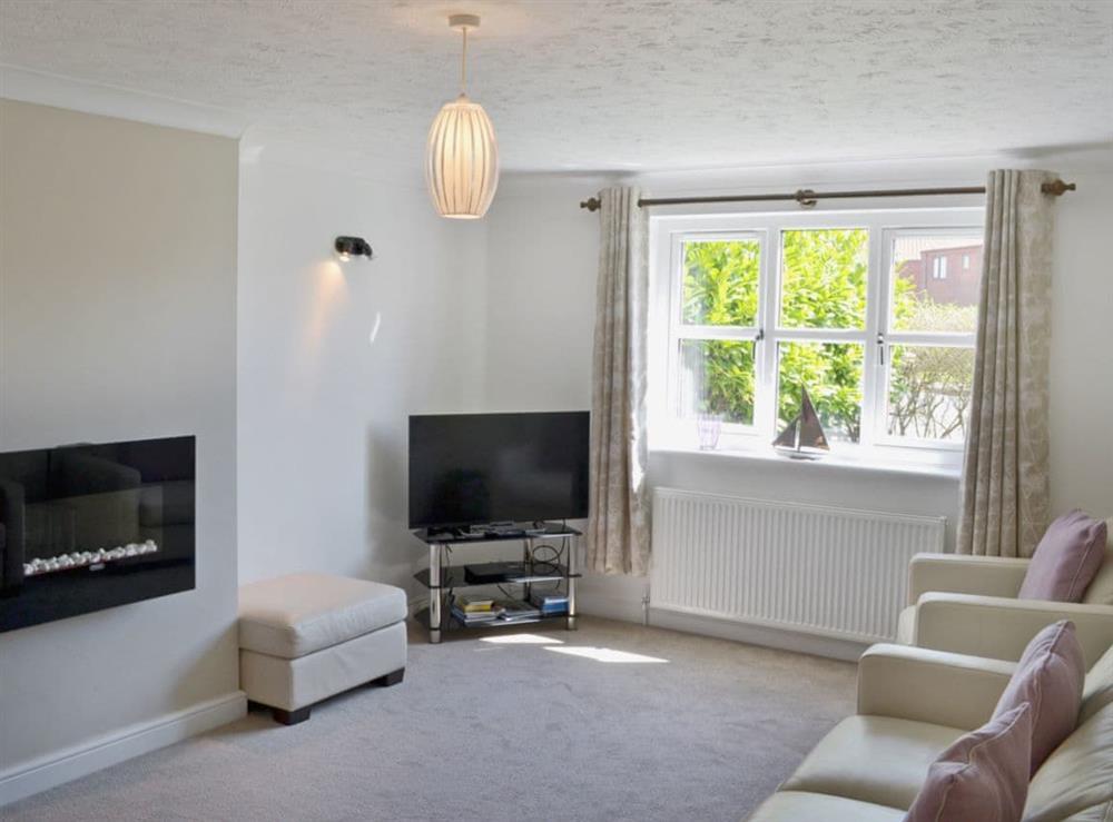Living room at Dormouse Cottage in Sea Palling, Norfolk