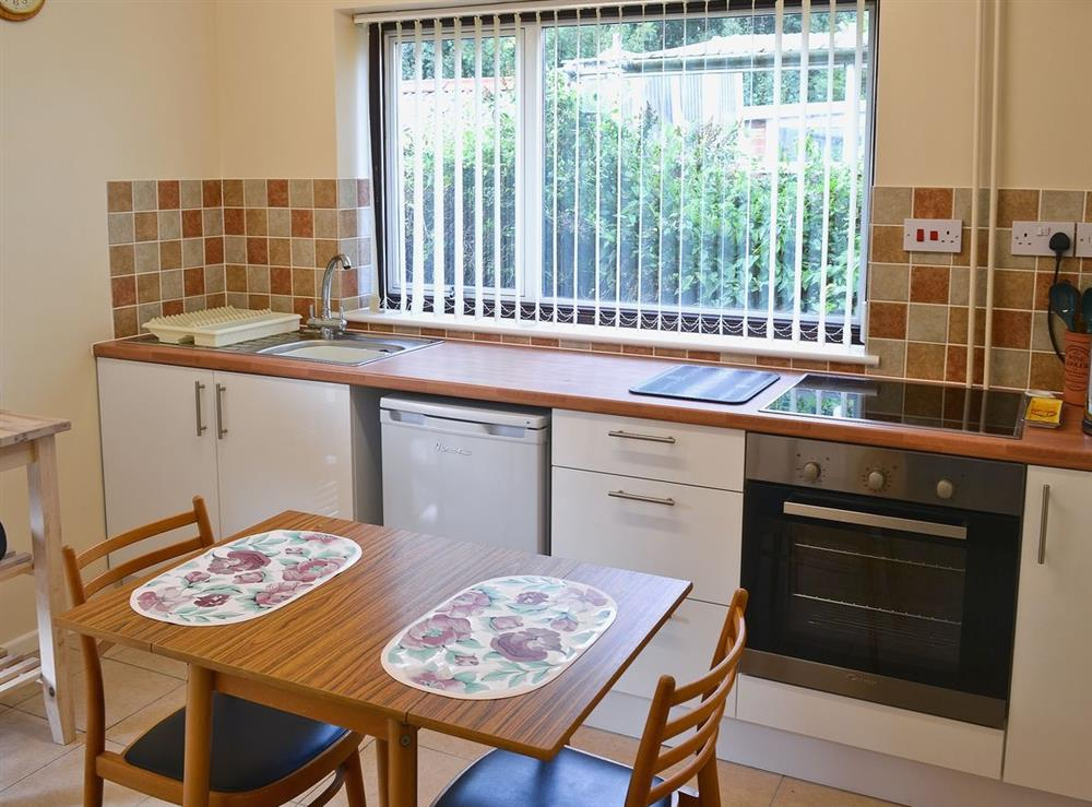 Kitchen at Dots Place in North Walsham, Norfolk