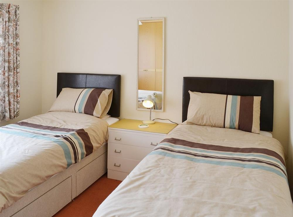 Twin bedroom at Dots Place in North Walsham, Norfolk