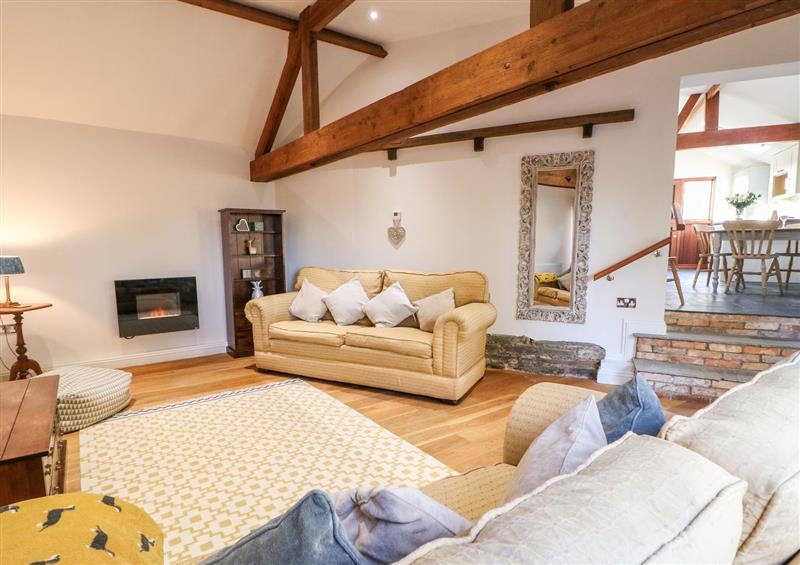 The living room at Dovecote Field House Farm, Brough near Collingham