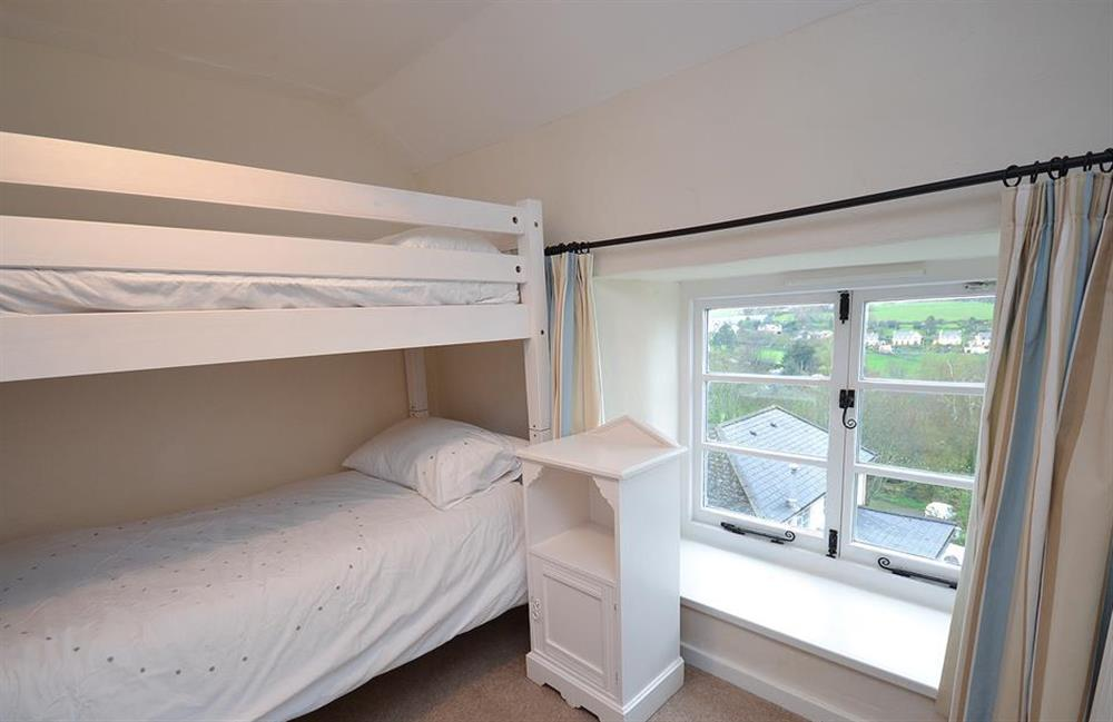 The bunk bedroom at Dower House, Dittisham