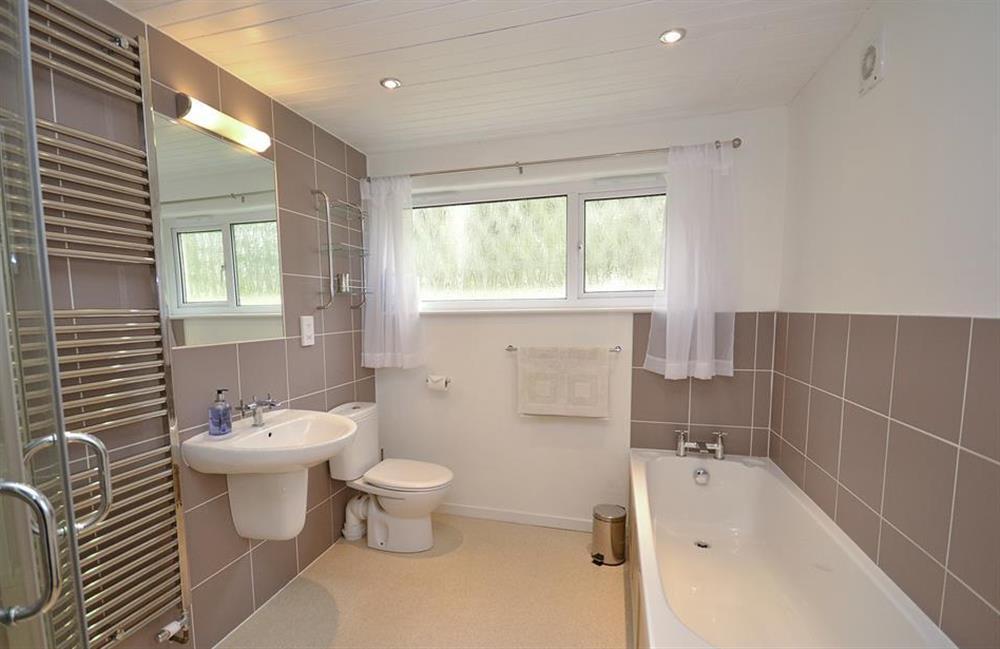 The en suite bathroom at Dower House, Dittisham
