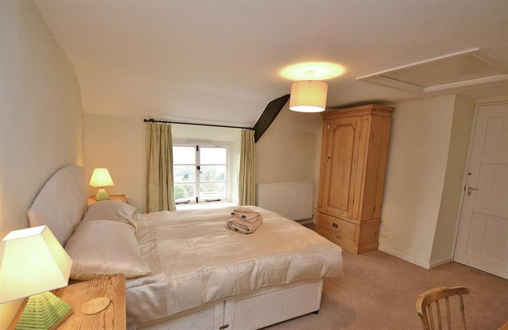 The second double bedroom at Dower House, Dittisham