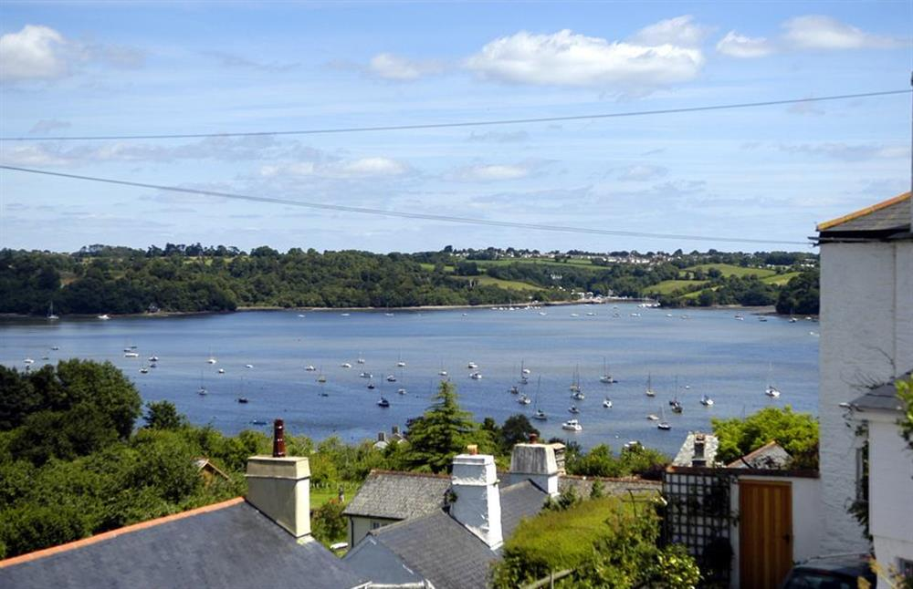 The superb River Dart views afforded from Dower House and its terrace at Dower House, Dittisham