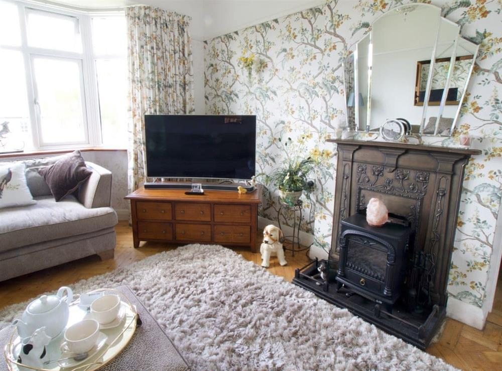 Living room at Downs Court House in Purley, Surrey
