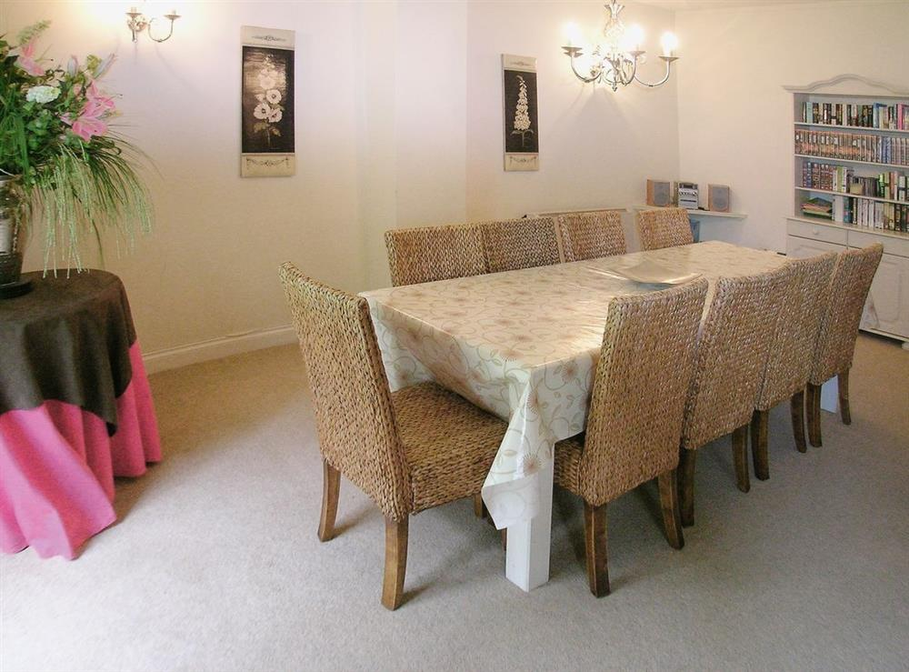 Dining Area at Dray Cottage in East Allington, Nr. Totnes, Devon., Great Britain