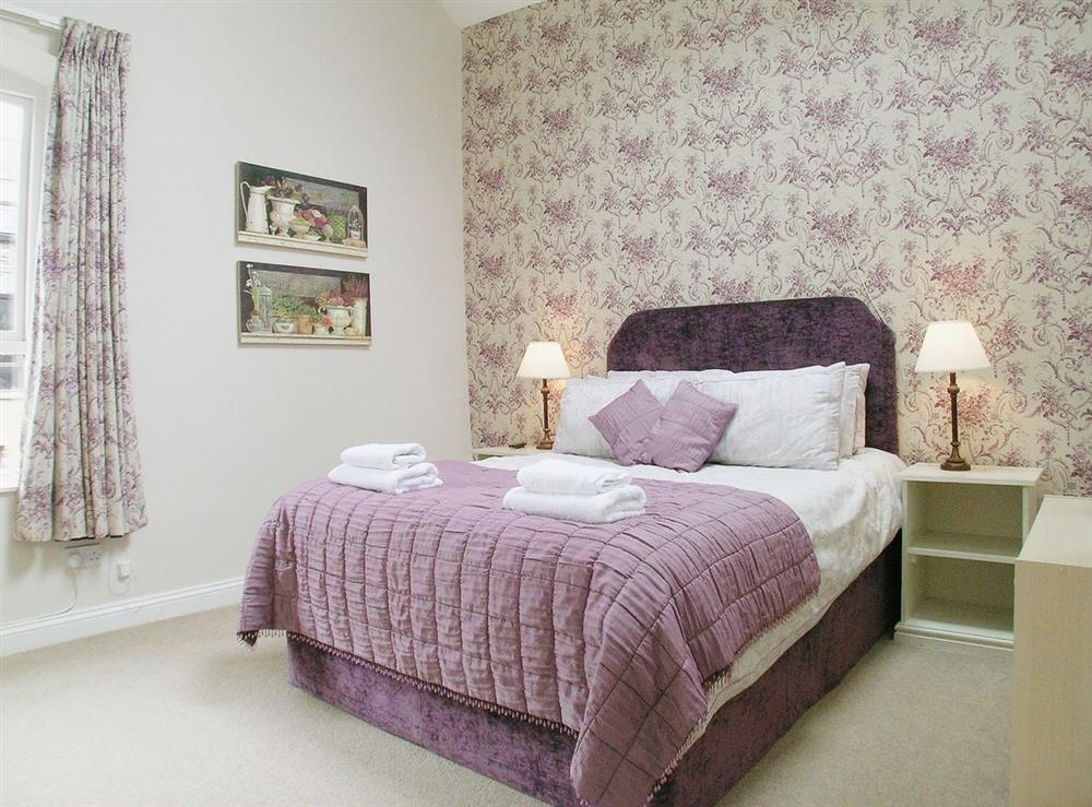 Double bedroom at Dray Cottage in East Allington, Nr. Totnes, Devon., Great Britain