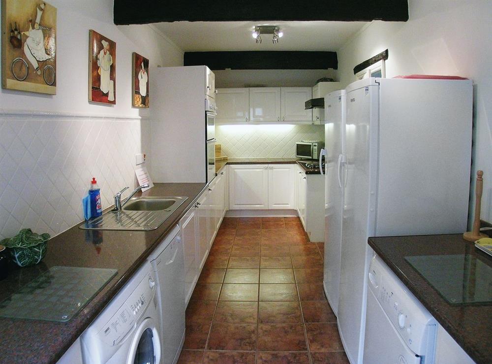 Kitchen at Dray Cottage in East Allington, Nr. Totnes, Devon., Great Britain