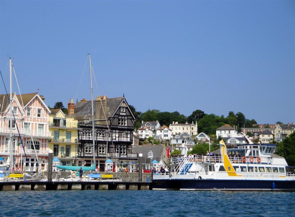 Another view of the busy harbour and waterfront at Driftwood, Dartmouth