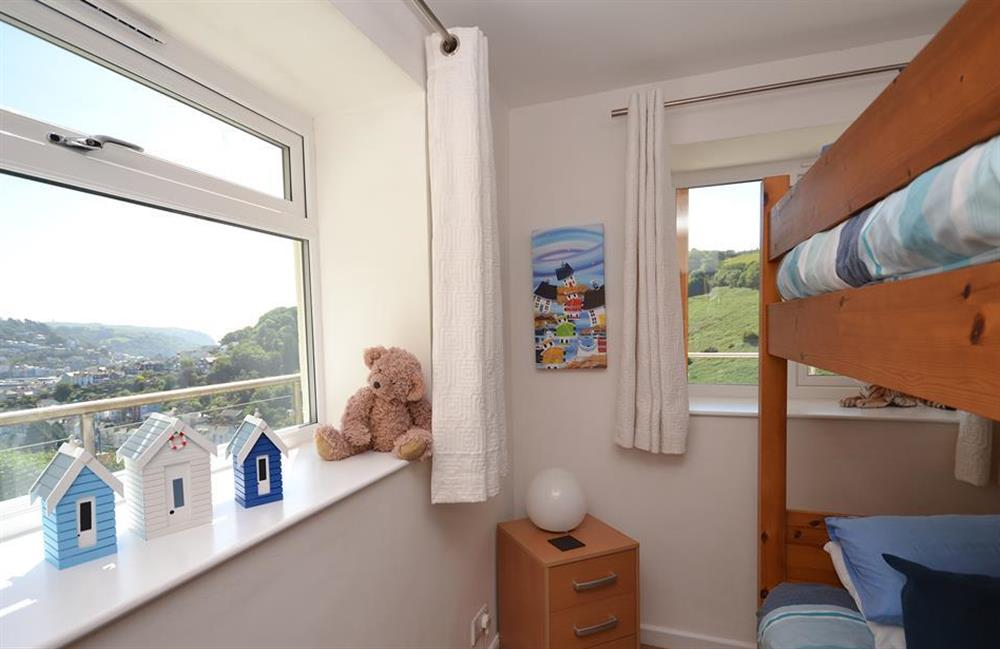 The bunk room enjoys enviable views over Dartmouth at Driftwood, Dartmouth