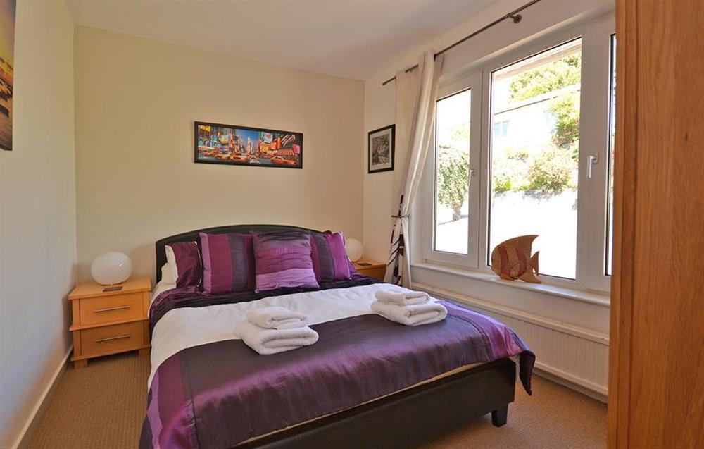The top floor double bedroom at Driftwood, Dartmouth