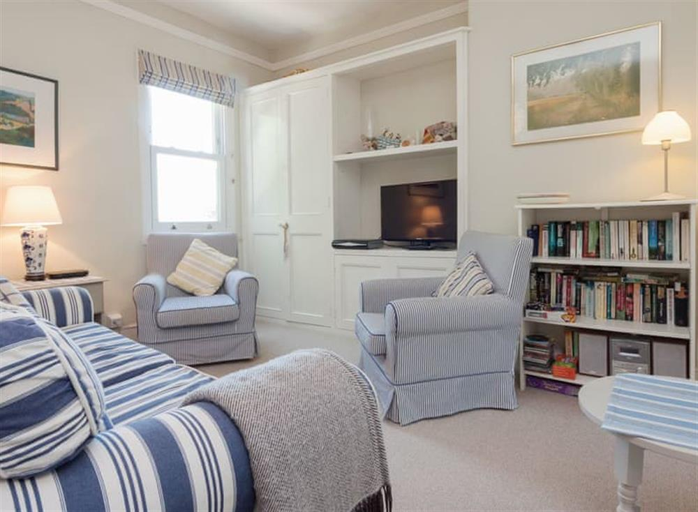 Comfortable living area at Driftwood in Stoke Fleming, Devon
