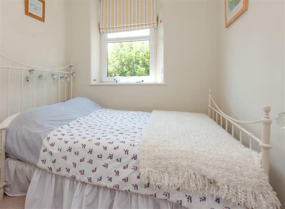 Comfy bedroom at Driftwood in Stoke Fleming, Devon