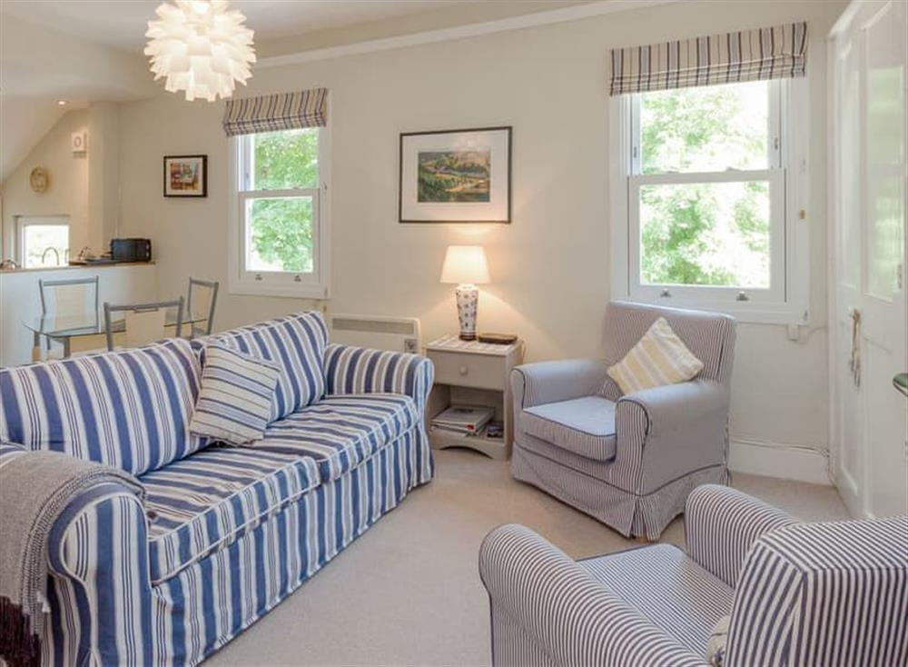Well presented living area at Driftwood in Stoke Fleming, Devon